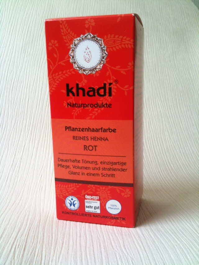 piekfein: das rote Henna von Khadi