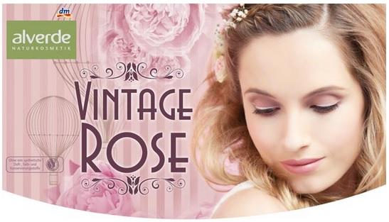 alverde vintage rose LE
