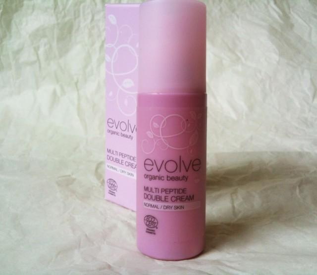 evolve organic beauty Multi Peptide Double Cream1b