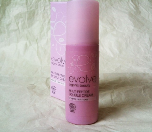 evolve organic beauty Multi Peptide Double Cream1b