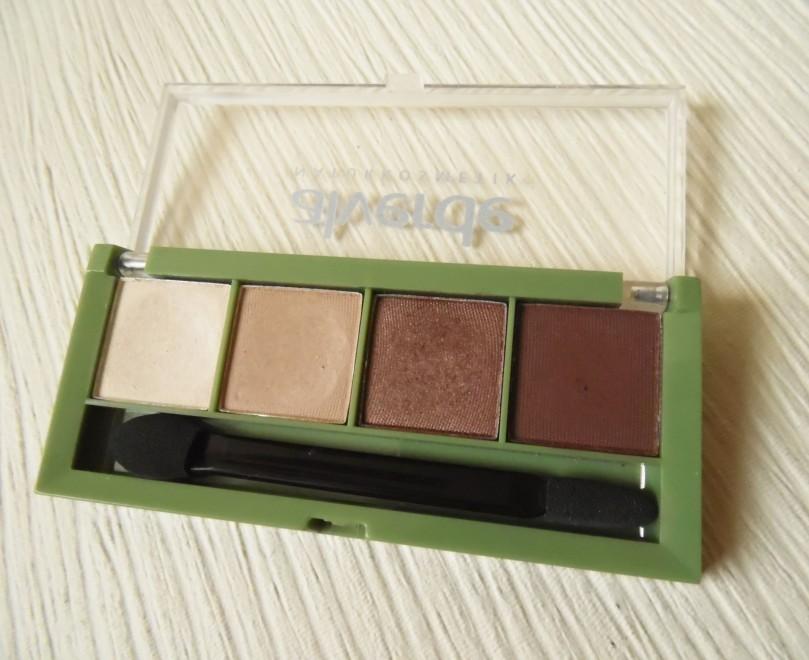 alverde Lidschatten Quattro 37 chocolate 1n