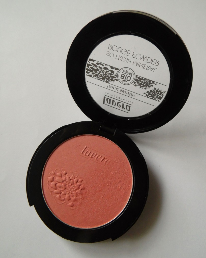 lavera so fresh mineral rouge powder 2n