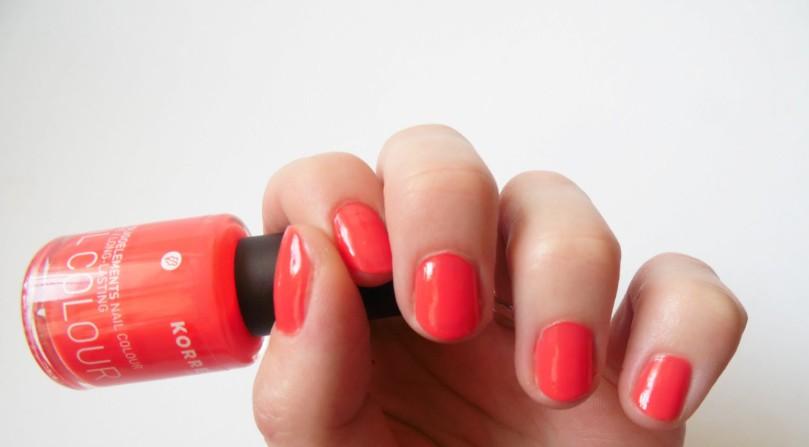 KORRES Nagellack Coral Hibiscus nail polish