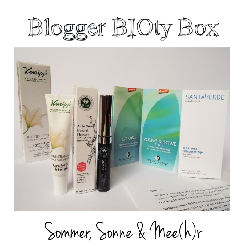 Blogger BIOty Box Inhalt neu