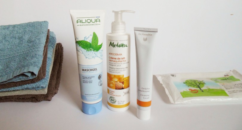 Gesichtspflegeroutine Naturkosmetik Sommer 2014 Reinigung