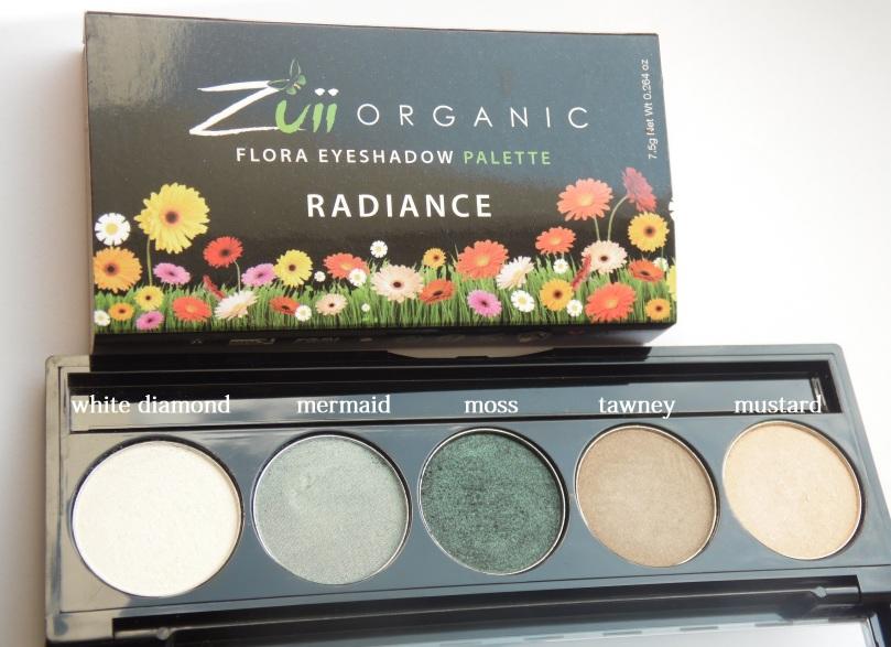 Zuii Radiance Eyeshadow Palette