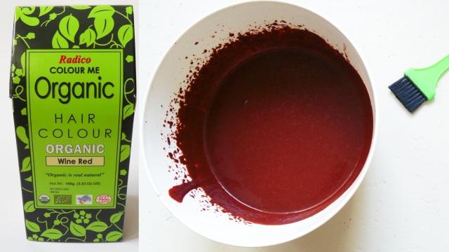 weinrot mit Henna: das Wine Red von Radico