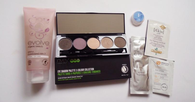 Haul Naturkosmetik naturisimo nvey eyeshadow palette #6 evolve gentle cleansing melt vapour concealer samples