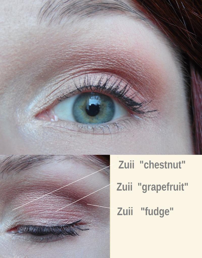 Zuii Quad Eyeshadow Palette fresh amu Augen