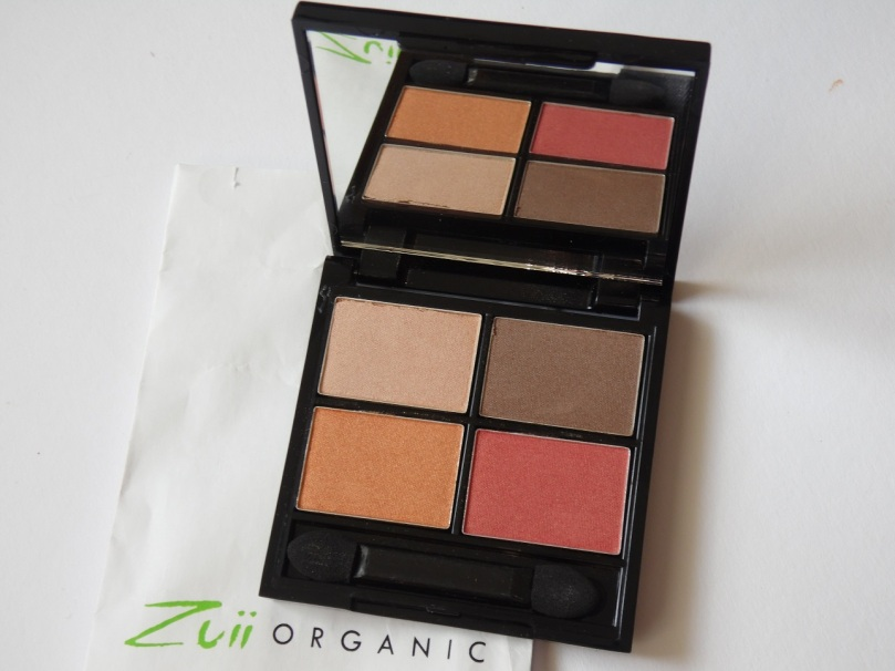 Zuii Quad Eyeshadow Palette fresh
