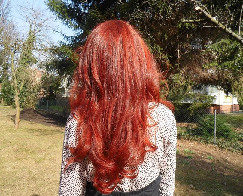 Haare Henna Khadi rot Sprühaufheller 2015