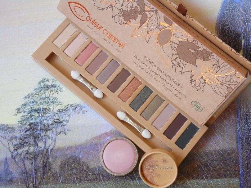 couleur caramel eye essential palette eyeshadow magic touch highlighter