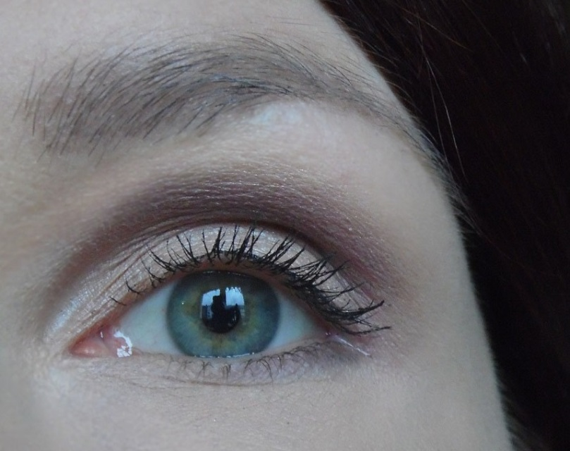 nachgeschminkt Februar 2017 grüne Augen Naturkosmetik