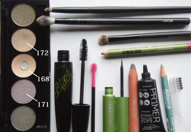 nachgeschminkt Februar 2017 nvey Eyeshadow Naturkosmetik