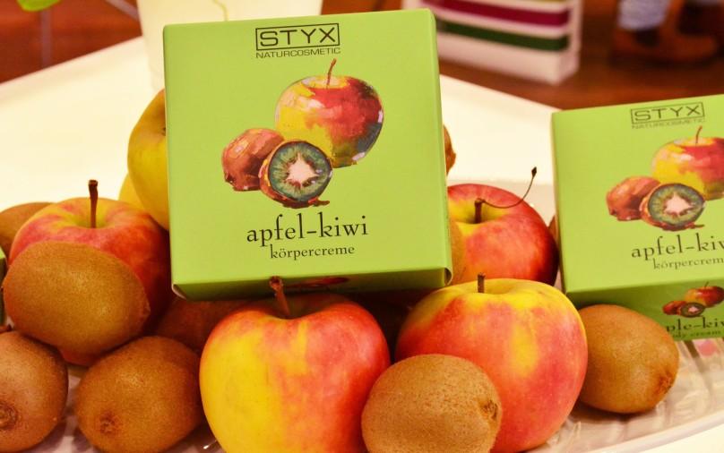 Styx Apfel Kiwi Körpercreme Vivaness 2017