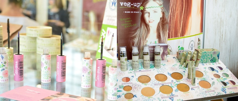 veg-up vegan Make Up Vivaness 2017