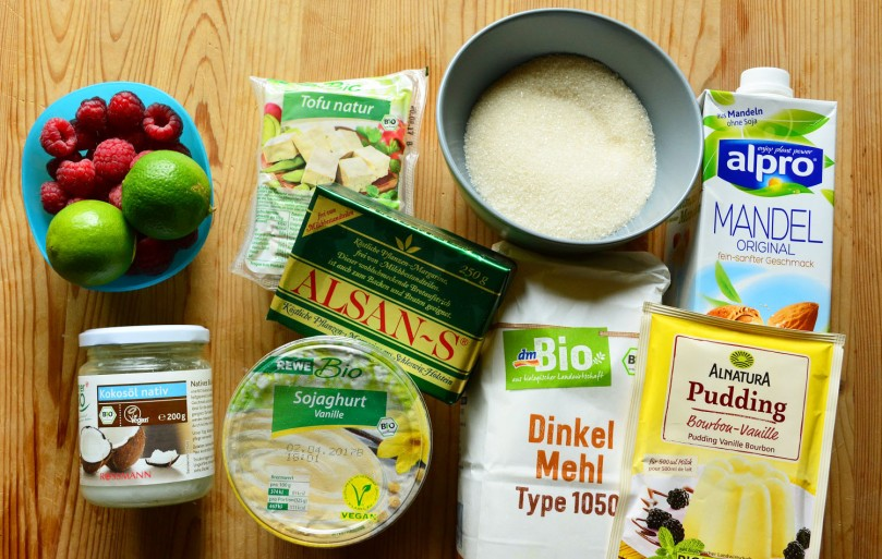 Käsekuchen vegan Rezept Zutaten