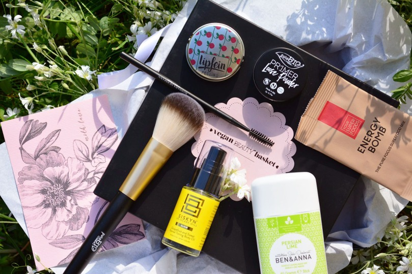 Vegan Beauty Basket Mai 2017 Inhalt
