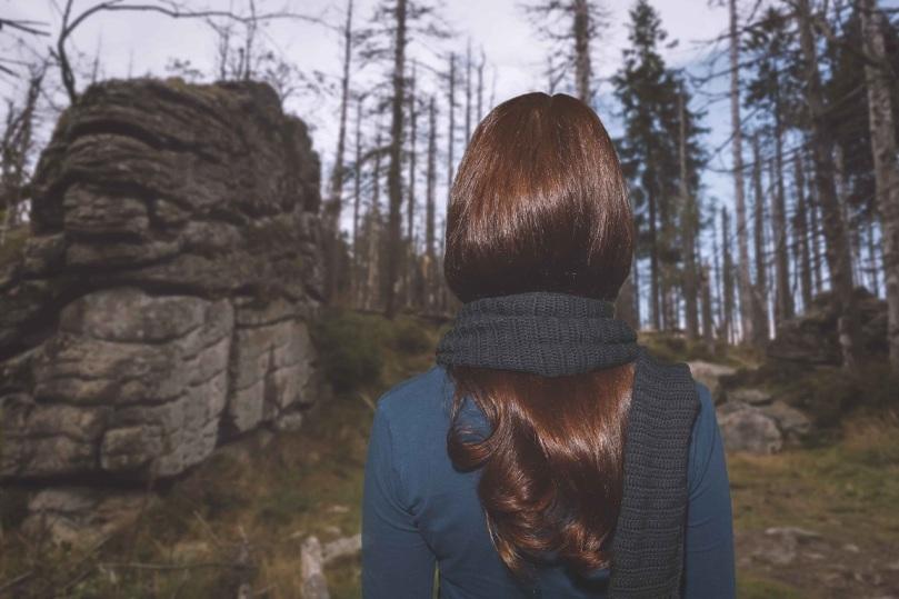 Haare im Winter Henna