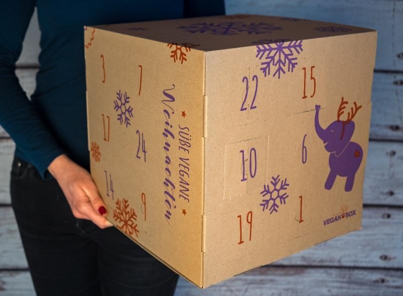 Vegan Box Adventskalender vegane weihnachten