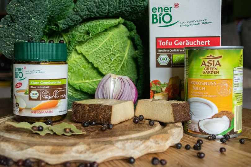Wirsing Suppe vegan Rezept Zutaten