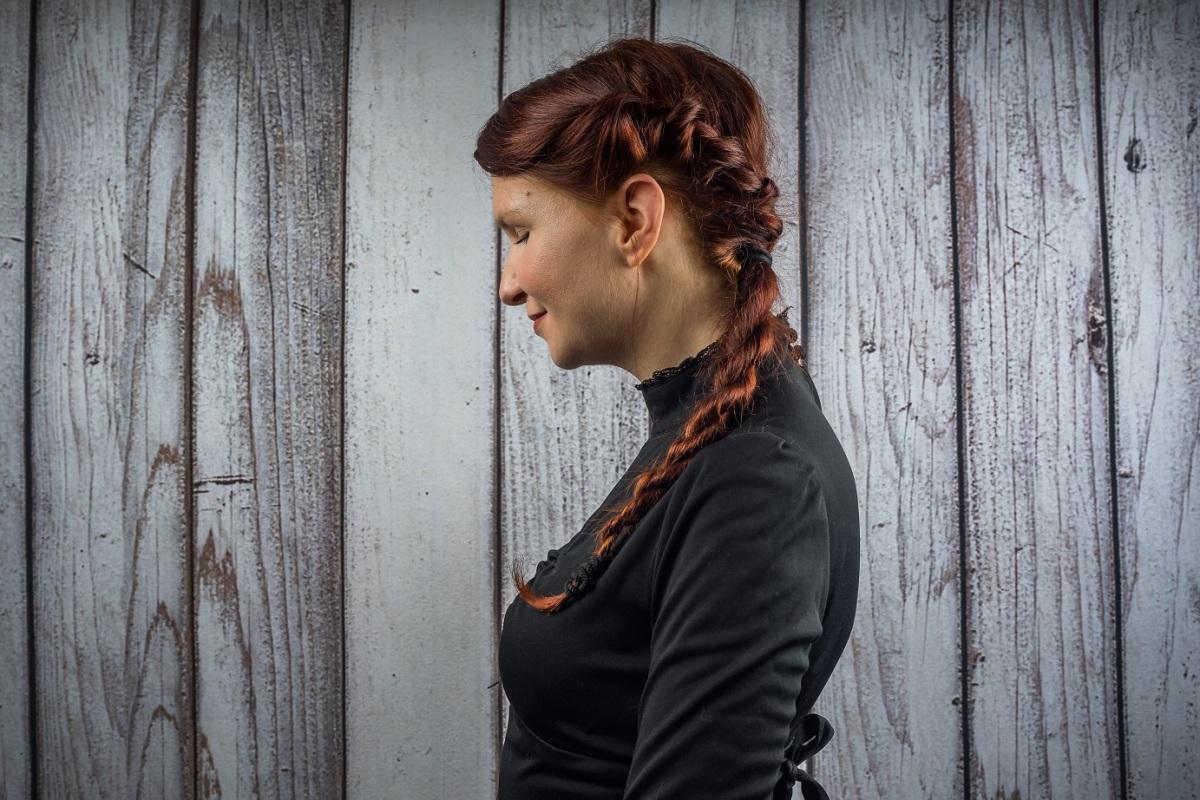 Haarbande: verspielte Kordelfrisur // Rope Braid